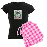 Hugle Women's Dark Pajamas