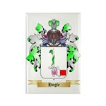 Hugle Rectangle Magnet (100 pack)