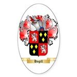 Hugill Sticker (Oval 50 pk)