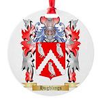 Hughlings Round Ornament