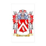 Hughlings Sticker (Rectangle 50 pk)