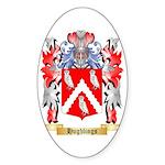 Hughlings Sticker (Oval 10 pk)