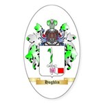 Hughlin Sticker (Oval 50 pk)