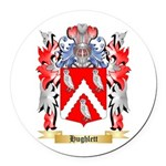 Hughlett Round Car Magnet
