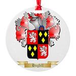 Hughill Round Ornament