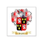 Hughill Square Sticker 3
