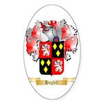 Hughill Sticker (Oval 50 pk)