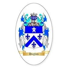 Hughes Sticker (Oval)
