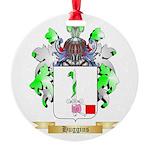Huggins Round Ornament