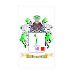 Huggins Sticker (Rectangle 50 pk)