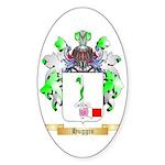 Huggin Sticker (Oval 50 pk)