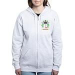 Huggens Women's Zip Hoodie