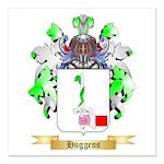 Huggens Square Car Magnet 3