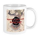 11 Oz Ceramic Samurai Archives Podcast Mug Mugs