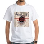 White Samurai Archives Podcast T-Shirt
