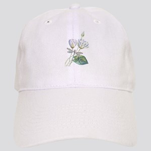 Lotus and dragonfly Cap