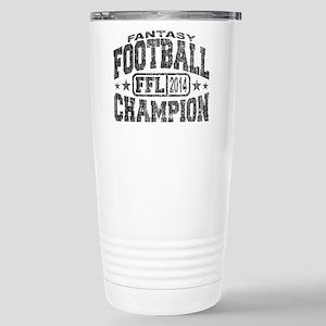 2014 Fantasy Football F Stainless Steel Travel Mug