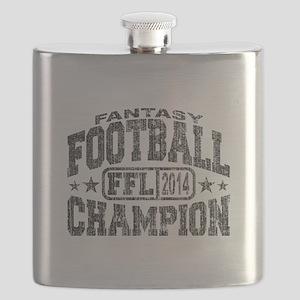 2014 Fantasy Football FFL Champion Flask