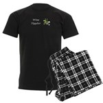 Wine Tippler Men's Dark Pajamas
