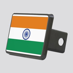 Flag Of India Rectangular Hitch Cover