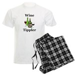 Wine Tippler Men's Light Pajamas
