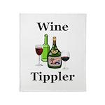 Wine Tippler Throw Blanket