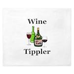 Wine Tippler King Duvet