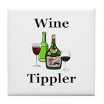 Wine Tippler Tile Coaster