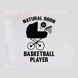 Natural Born Basketball Player Stadium Blanket