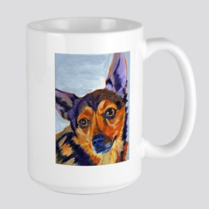 Chihuahua Portrait-Scooter Mugs