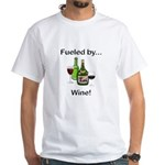 Fueled by Wine White T-Shirt