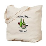 Fueled by Wine Tote Bag