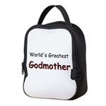 Greatest Godmother Neoprene Lunch Bag