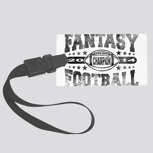 2014 Fantasy Football Champion - Large Luggage Tag