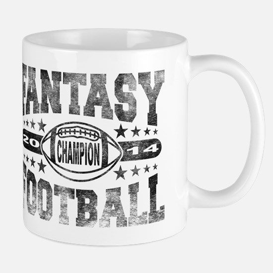 2014 Fantasy Football Champion - Footba Mug
