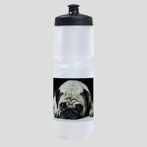 Pug Puppy Sports Bottle