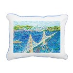 Golden Gate San Rectangular Canvas Pillow