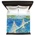 Golden Gate San Francisco King Duvet