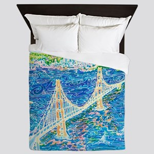 Golden Gate San Francisco Queen Duvet