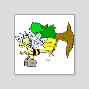 Bee Going To Work Sticker