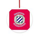 Season's Greetings  Ornament (Round)