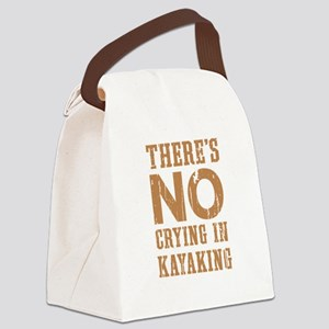 No Crying In Canvas Lunch Bag