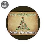"Wg Irish Christmas 3.5"" Button (10 Pack)"