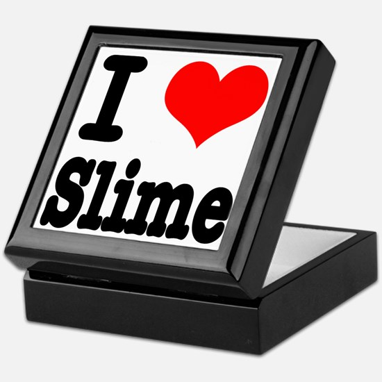 I Heart (Love) Slime Keepsake Box