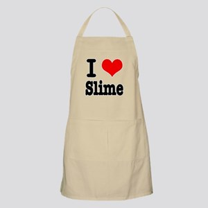 I Heart (Love) Slime BBQ Apron