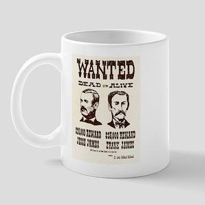 Jesse & Frank James Mug