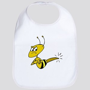 Angry Bee Bib