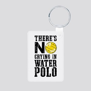 No Crying in Water Polo Keychains