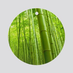 Bamboo Perspective Ornament (Round)