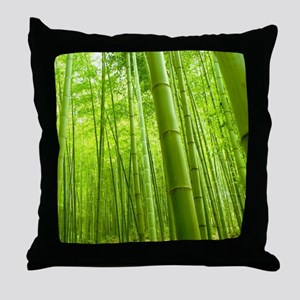 Bamboo Perspective Throw Pillow